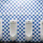 手洗い用の水も使って流せる節水男性用小便器が注目されてますね